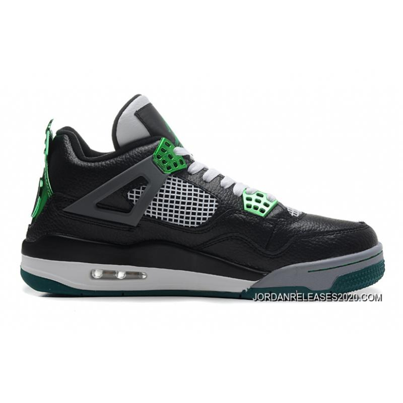"e8f4e20b1ed2 2020 New Year Deals New Air Jordan 4 Retro ""Oregon Ducks"" Black Metallic ..."