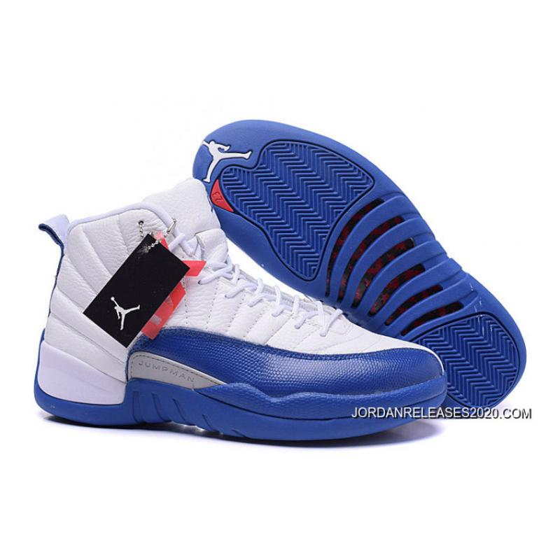 "online retailer 11132 fb069 Air Jordan 12 Retro ""French Blue"" New Year Deals"