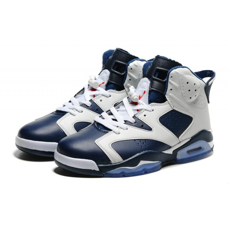 "... Air Jordan 6 ""Olympic"" White Midnight Navy-Varsity Red Online ... f7c72560a2"