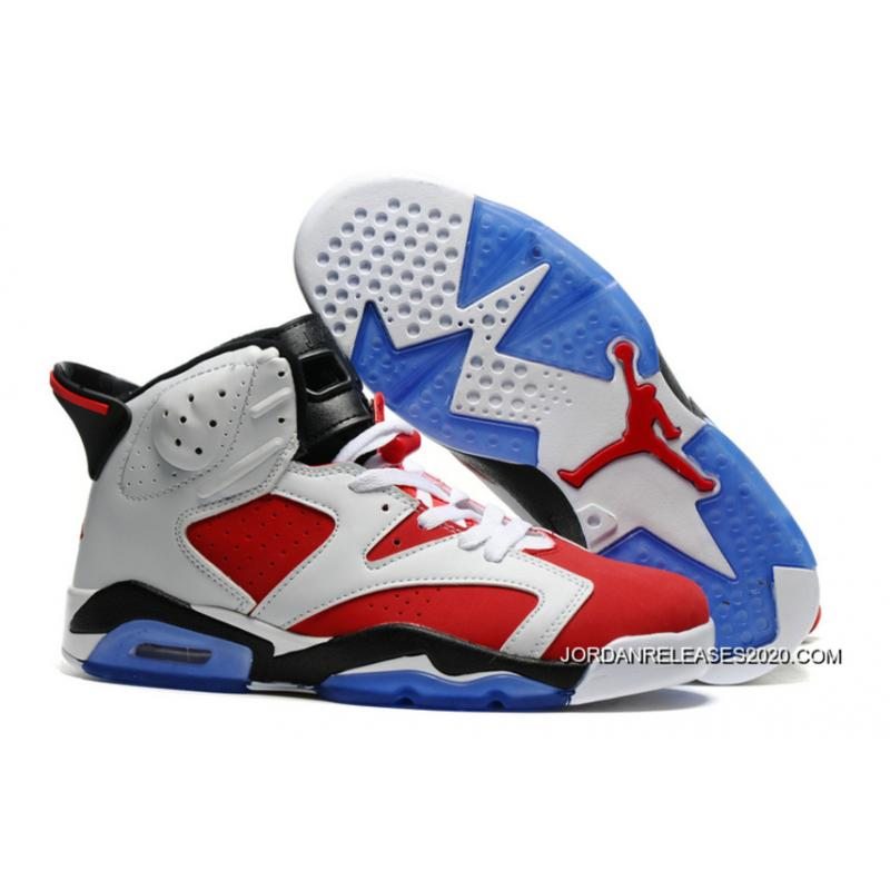 "c5490ddd27e Air Jordan 6 ""Carmine"" White/Carmine-Black Top Deals, Price: $79.83 ..."