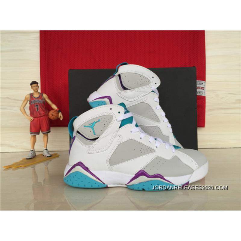 new concept 0773a 3df04 ... canada new air jordan 7 gs neutral grey mineral blue 2020 super deals  4649f 24108