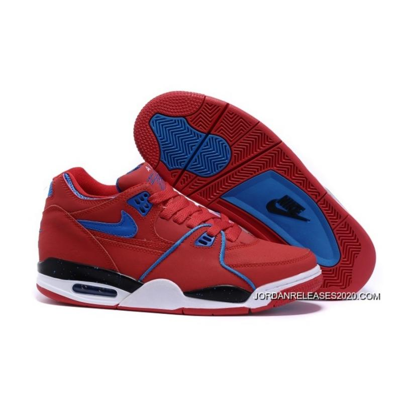d331ce432428 Nike Air Flight  89 University Red Game Royal Sports Basketball Shoes 2020  Discount ...