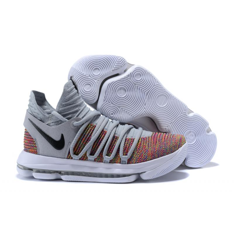 new arrival af6da 96e65 Best Nike KD 10 Multi-Color/Black-Cool Grey-White
