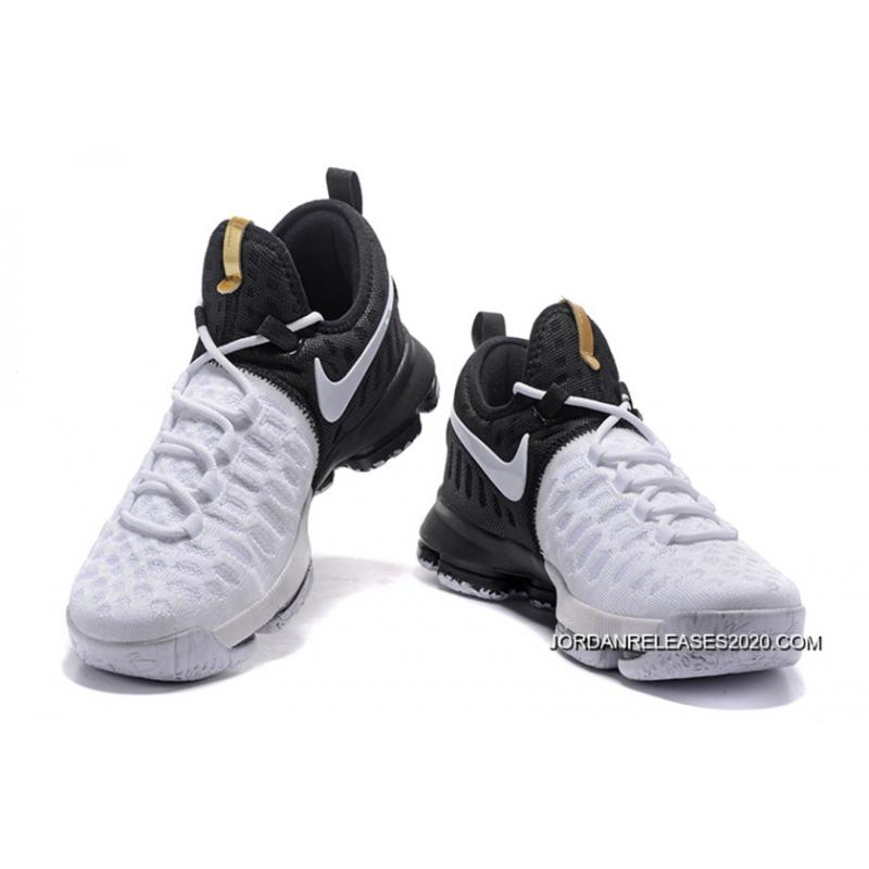 "... Nike KD 9 ""BHM"" Black/Metallic Gold-White 2020 Online ..."