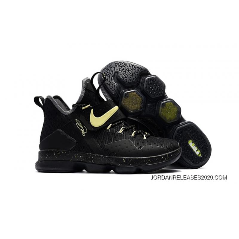 "premium selection d577e 873fd Nike LeBron 14 ""Black"" Glow In The Dark 2020 Online ..."
