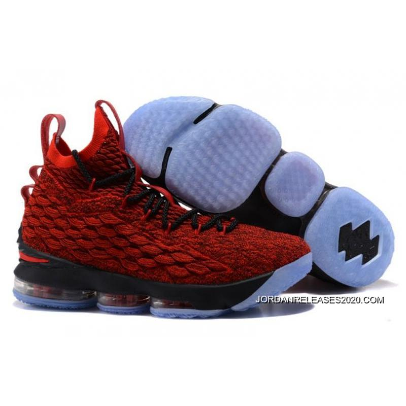 "uk availability 484ff 56505 Big Discount Nike LeBron 15 ""Wine"" Burgundy/Black-Team Red"