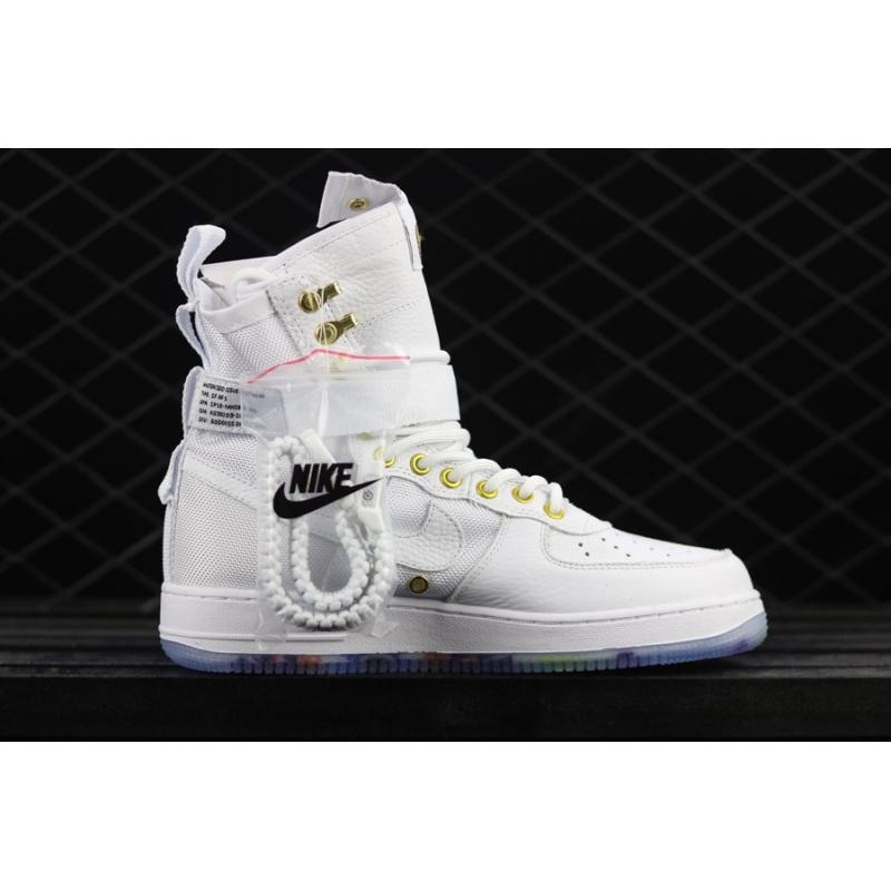 "1e479d0f4df Outlet Nike SF-AF1 Mid ""Lunar New Year"" White Habanero Red ..."