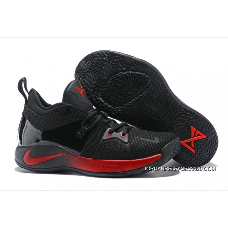 7ea21c74eb7 2020 Best Nike PG 2 Black Red ...