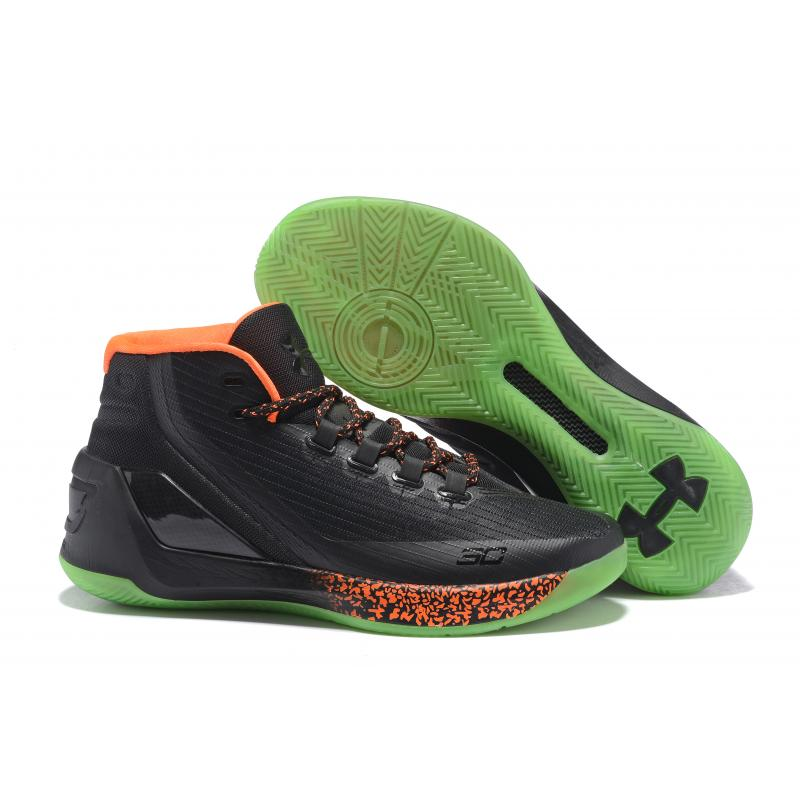 "c1bdacad5cf For Sale Under Armour Curry 3 ""Lights Out"" Halloween PE ..."