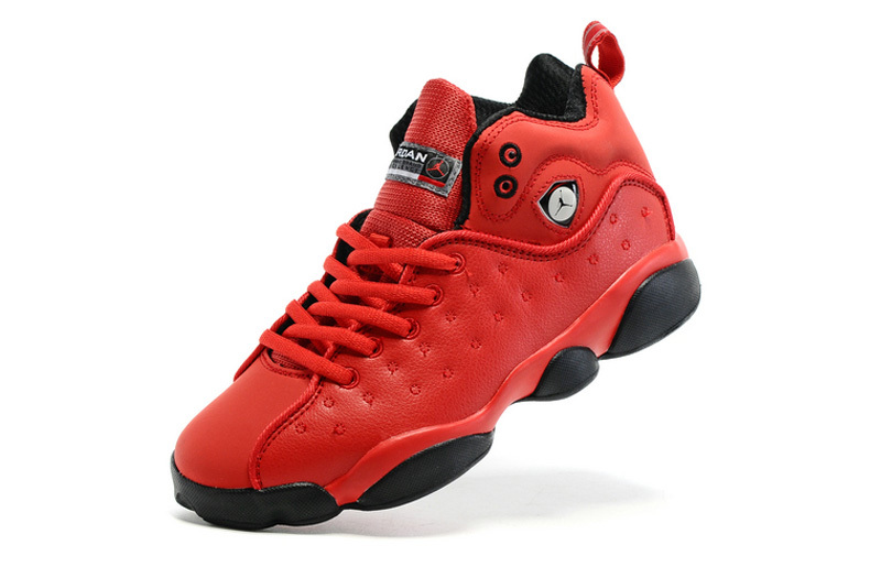 """383f799ceb8 Outlet New Jordan Jumpman Team 2 GS """"Raging Bull"""" All-Red, Price ..."""