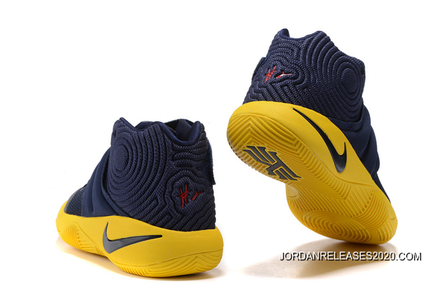 """d3fb4859c447 2020 New Style Girls Nike Kyrie 2 """"Cavs"""""""