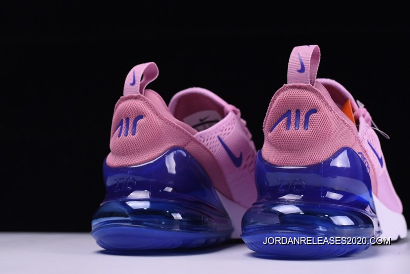 New Year Deals WMNS Nike Air Max 270 PinkRoyal Blue White