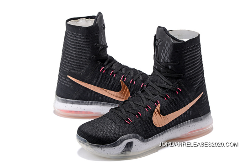 "new product 362b1 fa8a1 Top Deals Nike Kobe 10 Elite High ""Rose Gold"""