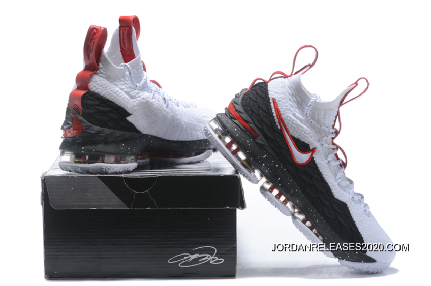 new product 1d9db 6699f Best Nike LeBron 15 'Air Zoom Generation' White Black Red
