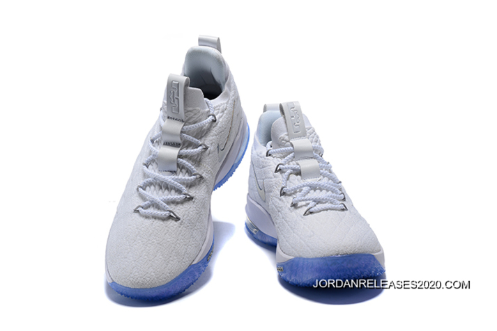 """fbdeb4f82d5 Best Nike LeBron 15 Low """"White Ice"""" Men s Basketball Shoes"""
