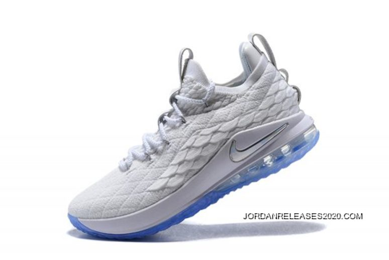 """ed7b43a8129 Best Nike LeBron 15 Low """"White Ice"""" Men s Basketball Shoes"""