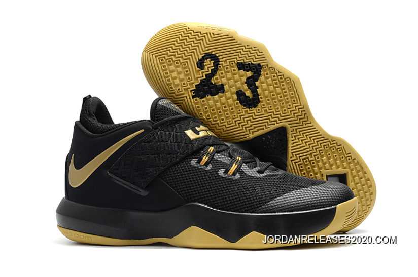 sports shoes 789e2 32ec3 Nike LeBron Ambassador 10 Black Gold 2020 For Sale