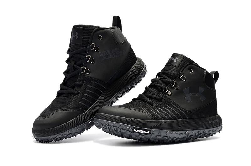 "new york 8a156 ce38e Under Armour Fat Tire GTX ""Triple Black"" Hiking Boots Trail Shoes Copuon"